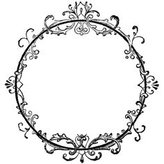 Vintage Clipart Frames ❤ liked on Polyvore featuring frames, backgrounds, circles, fillers, decor, borders, effects, round, doodles and text