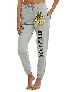 Harry Potter Hogwarts Girls Jogger Pants,