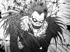 Ryuk betraying and killing Light Yagami.