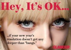 Happy New Year (to your hair)! Hey, it's OK!