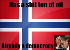 Funny picture: Damn you Norway