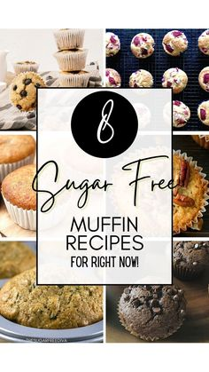 Sugar Free Deserts, Sugar Free Sweets, Sugar Free Candy, Sugar Free Recipes, Low Carb Recipes, Diabetic Meal Plan, Diabetic Desserts, Diabetic Recipes, Zucchini Muffins