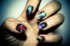 Nebula nails.