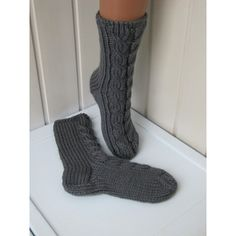 Knitted socks, knitted socks, gray socks, Christmas gifts, socks,... ($26) ❤ liked on Polyvore featuring intimates, hosiery, socks, christmas socks, gray socks, christmas hosiery and grey socks