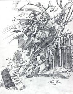 Gene Colan Tomb of Dracula Commission | eBay