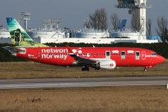 Boeing 737-300 Norwegian Air Shuttle ln-kkx