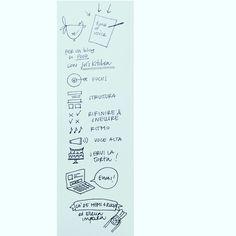 [Photo by scquizzatoconlacq on Instagram] Lezione numero due @langue_parole e @julskitchen  #foodwriting