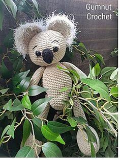 Ravelry: Koala Bear pattern by Gumnut Crochet