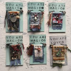 Visit the post for more. Art For Kids, Crafts For Kids, Arts And Crafts, Diy Crafts, Magic Charms, Fabric Scraps, Scrap Fabric, Prayer Flags, Textiles