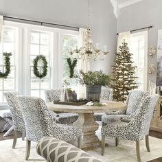 Beautiful Christmas decor- JOY in the window for our house
