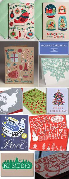 Christmas illustration Holiday Card Picks #6