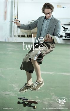 Live Twice | Creative Ad Awards