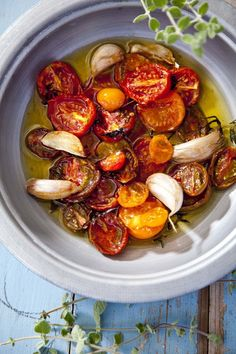 Oven Tomatoes by @Natasha S S Haimovich