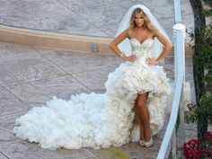 Not very practical but god I love this dress!! I could finally live out my childhood dream of being the bride in guns n roses November rain video LOL!