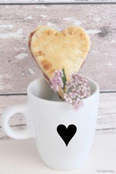 Marmelade Herzen Mürbeteig Valentinstag Muttertag Geschenk Rezept