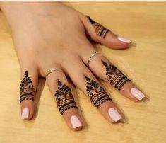 unique finger Mehndi designs that you will absolutely love - Braut Henna - Henna Designs Hand Finger Mehendi Designs, Henna Tattoo Designs Simple, Henna Art Designs, Mehndi Designs For Girls, Mehndi Designs For Beginners, Modern Mehndi Designs, Mehndi Designs For Fingers, Mehndi Design Images, Latest Mehndi Designs