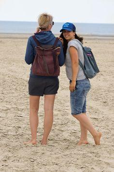 Rucksack oder Schultertasche? Nähe dir deine Citie Bag von Prülla