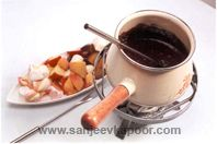 Chocolate Nut Fondue: Excellent party dessert that pleases one and all!