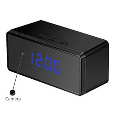 OUMEIOU 1080P 16GB Spy Hidden Camera Alarm Clock Infrared Night Vision Simplified Version *** To view further for this item, visit the image link.