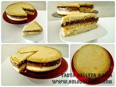 tarta galleta maria fácil receta paso a paso  http://www.golosolandia.com/2014/09/tarta-galleta-maria.html