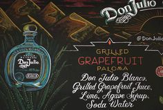 don julio chalkboard menu at buzzfeed hq by andrea casey artist hand lettered