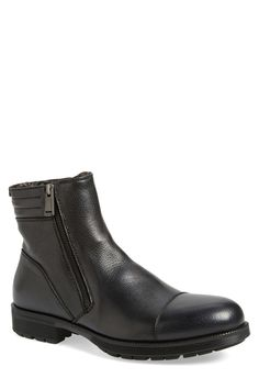 Hugh Weatherproof Genuine Shearling Lined Zip Boot