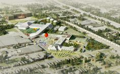 OMA masterplans a food port in west louisville, kentucky