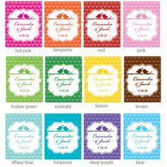Label Colors