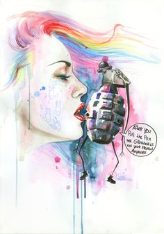 Les peintures de Lora Zombie mr-grenade