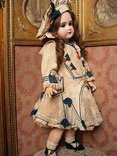 Pretty sailor bebe costume with matched hat from les-fees-du-temps on Ruby Lane