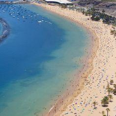 Playa de #lasTeresitas en #Tenerife #IslasCanarias
