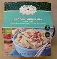 Check out our review of Archer Farms Bacon Carbonara Lunch Bowl!