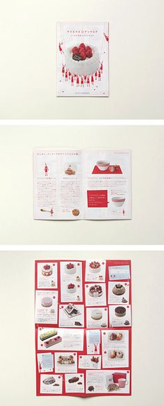 ears | works Book Design, Layout Design, Web Design, Graphic Design, Sweets Catalog, Cookie Packaging, Grid System, Christmas Design, Editorial Design