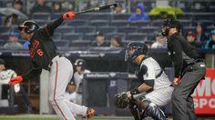 Schoop Trumbo power Orioles to win over Yankees