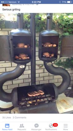 serious grillin set up