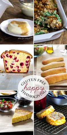 Best Gluten Free Thanskgiving Recipes - Gluten-Free on a Shoestring
