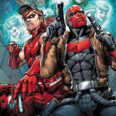 Arsenal & Red Hood by Howard Porter!