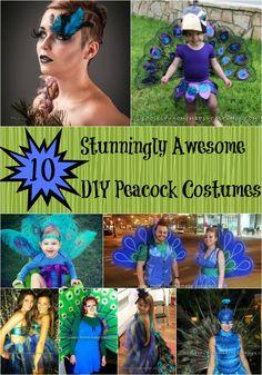Top+10+Stunning+DIY+Peacock+Costumes