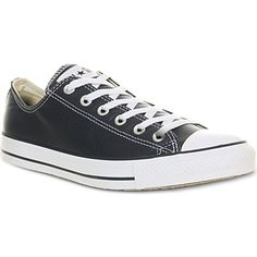 CONVERSE All Star low-top leather trainers (Navy)