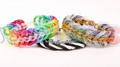 Justin's Toys - Rainbow Loom Bracelet Tutorials - YouTube