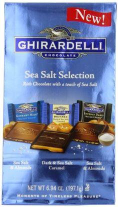 Ghirardelli SQUARES Sea Salt Assorted...