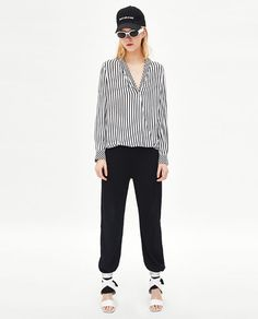ZARA - WOMAN - ASYMMETRIC CROSSOVER TOP