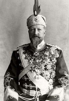 """""""Tsar Ferdinand of Bulgaria and his 38745384563845684 medals. """""""