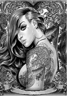 Dream catcher on pinterest chicano chicano art and lowrider for Badass angel tattoos