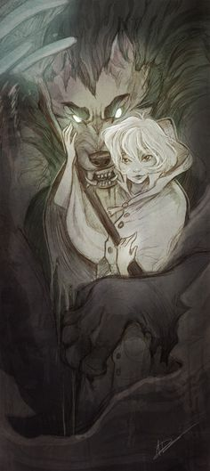 Looks like Shypie giving lunar huggies again. Wolves of Danu  by *pupukachoo