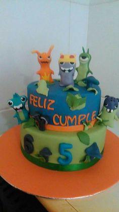 SLUGTERRA cake by Dulcemelcocha