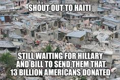 Why is it a SHIT HOLE? Thanks Hillary! You are why...