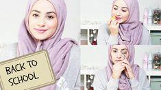 Natural Make up Tutorial ♡ Back To School! | Hijab Hills