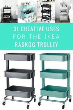 Ikea Raskog Trolley, Ikea Raskog Cart, Ikea Cart, Ikea Kitchen Trolley, Storage Trolley, Trolley Cart, Ikea 3 Tier Cart, Ikea Utility Cart, Rangement Makeup
