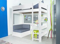 flexa basic hochbett casa trendy mit schr ge leiter wei wohnorten pinterest hochbett. Black Bedroom Furniture Sets. Home Design Ideas